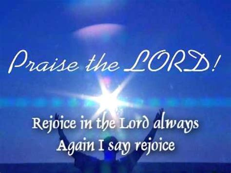 Sho Rejoice by Rejoice In The Lord Always