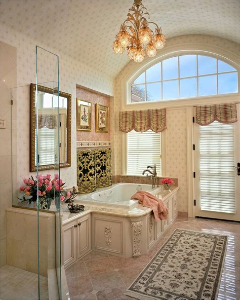 J Interiors by 7 Beautiful Bathrooms That Are Anything But Modern Porch