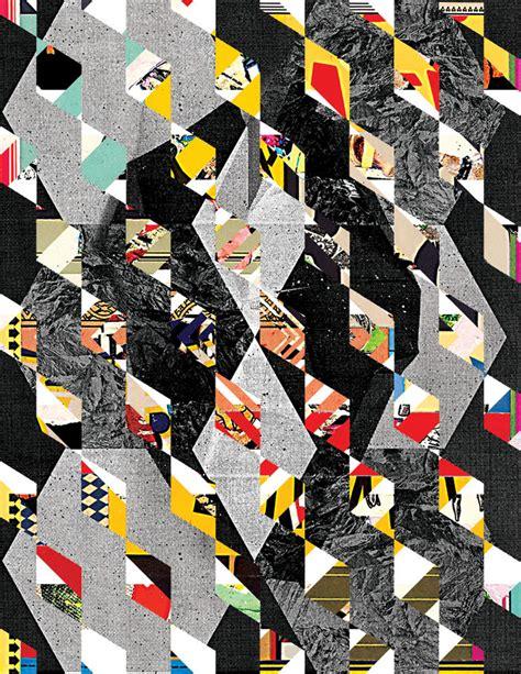 shape pattern collage collage meets pattern madame gilles patternbank