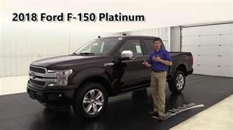 2018 ford f 150 platinum edition standard amp optional