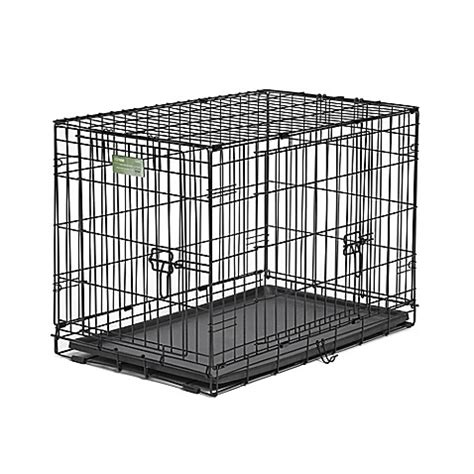 30 inch crate buy icrate door folding 30 inch crate with divider from bed bath beyond