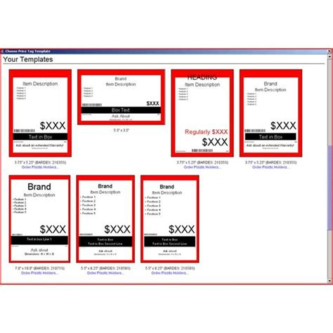 Price Tag Template Microsoft Word price tag template free
