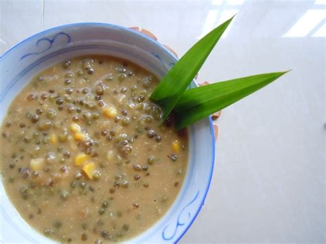 langkah2 membuat bubur kacang hijau how to make bubur cha cha and 9 other malaysian sweet