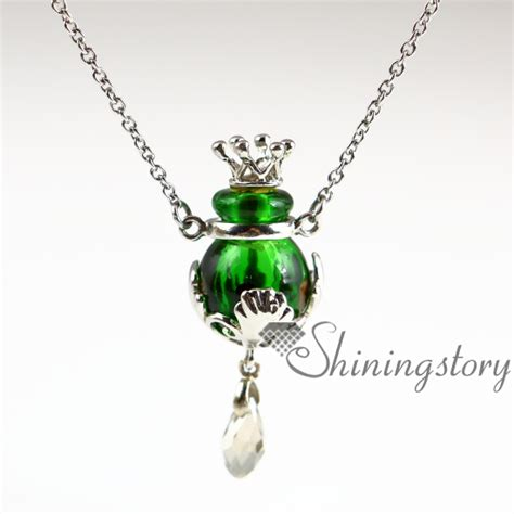 aromatherapy necklace wholesale murano glass necklace