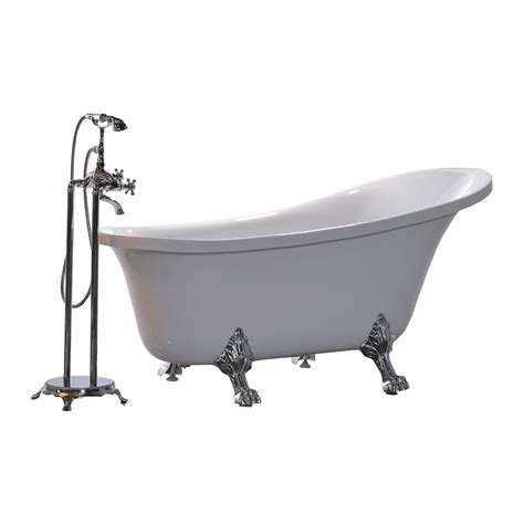 bathtub king legion furniture king 69 quot x 30 quot soaking bathtub reviews
