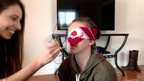 food tasting challenge blindfolded food tasting challenge