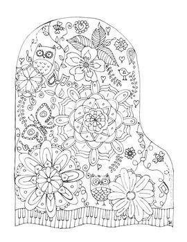 imagenes mandalas musicales my first mandala inspired coloring sheet for young and old
