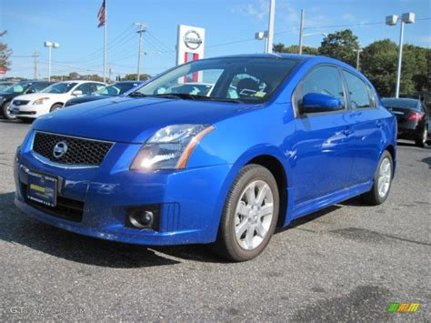 2010 Blue Metallic Nissan Sentra 2 0 Sr 55450700