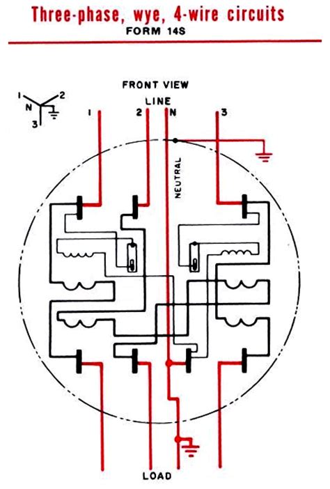 wiring electric meter form diagrams wiring get free