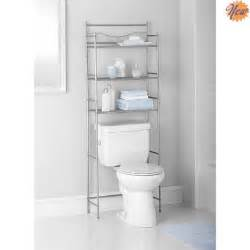 3 shelf toilet bathroom storage organizer cabinet