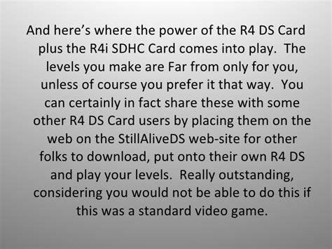 make your own r4 card r4 ds card homebrew