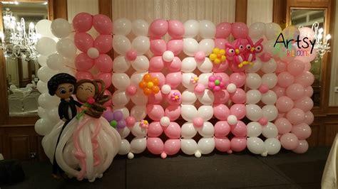 Balon Dekor wedding balloon decoration singapore balloon decoration