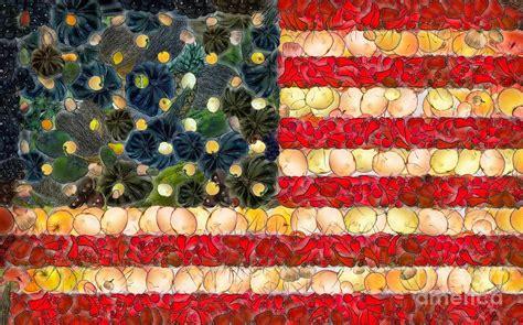 vegetables to america american flag fruit and vegetable ii digital by