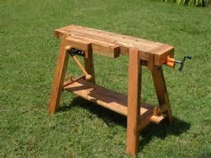Sawhorse Bench - joinery bench plans woodworking projects amp plans