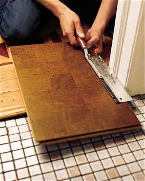 Cork Floating Floor Prep Install   Cancork Floor Inc.