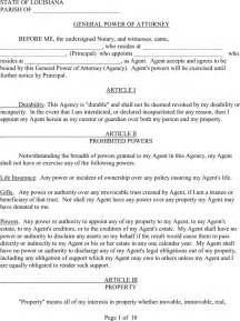 durable power of attorney template power of attorney template free template