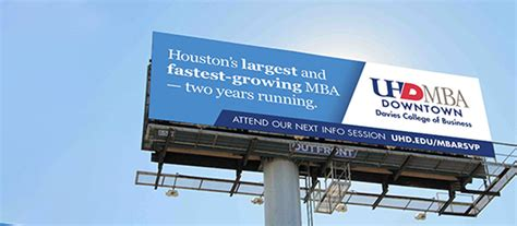 Mba Degree Plan Uhd by Houston Business School Of Houston Downtown