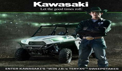Pbr Sweepstakes 2017 - kawasaki launches teryx4 sweepstakes for lucky pbr fans in 2013 outdoorhub