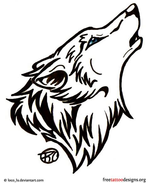 wolf head tattoo wolf tattoos