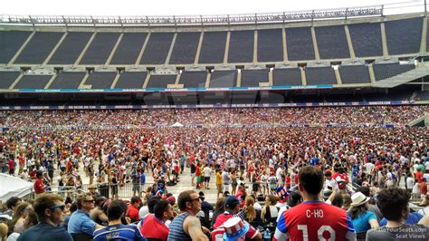 Section 108 I by Soldier Field Section 108 Concert Seating Rateyourseats
