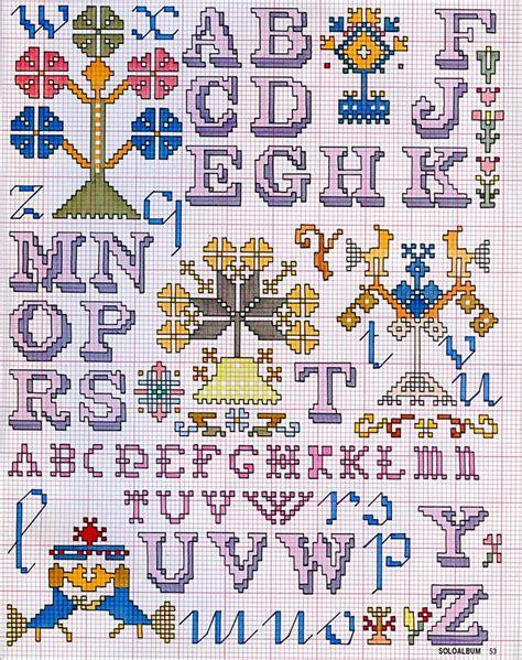 lettere in corsivo a punto croce alfabeti a punto croce meryweb