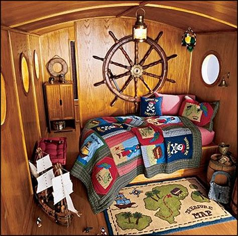 pirate themed room decor decorating theme bedrooms maries manor pirate ship beds