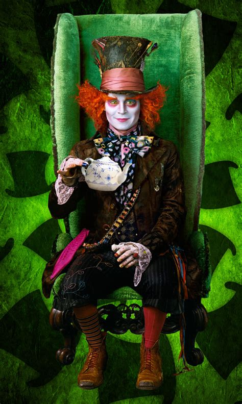 johnny mad mad hatter johnny depp images hatter hd wallpaper and background photos 21065769