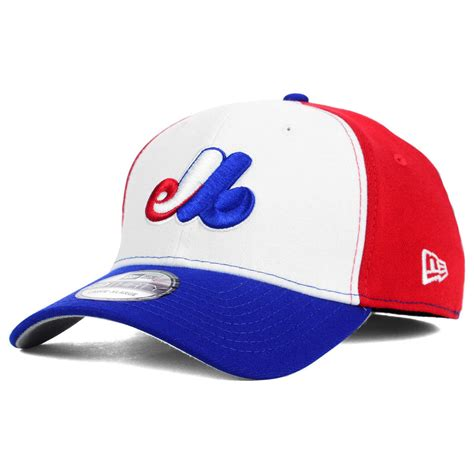 montreal expos cooperstown mlb team classic 39thirty home cap