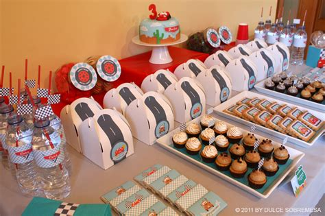 cars themed birthday ideas kara s party ideas disney pixar s cars 3rd birthday party