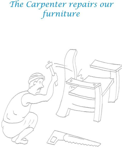 coloring pages of joseph the carpenter jesus the carpenter coloring pages
