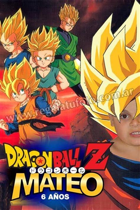 imagenes de goku para cumpleaños dragon ball z cu0028 regal 225 tu foto