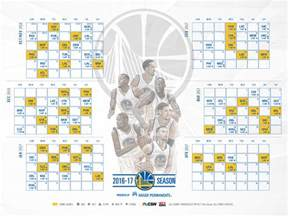 warriors home schedule golden state warriors announce schedule for 2016 17 season