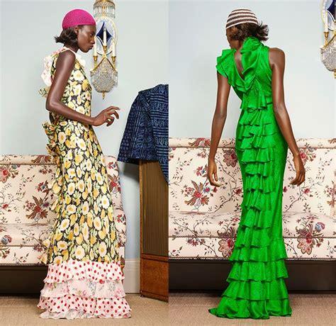 Fashion Week Duro Olowu Catwalk by Duro Olowu 2015 Summer Womens Lookbook Presentation