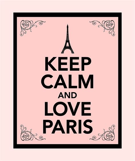 imágenes de keep calm and love keep calm and love paris pink and black this is a fun