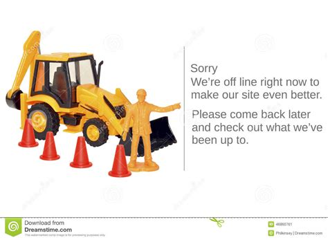 Possible Time Site Maintenance by Website Maintenance Stock Image Image Of Website Text