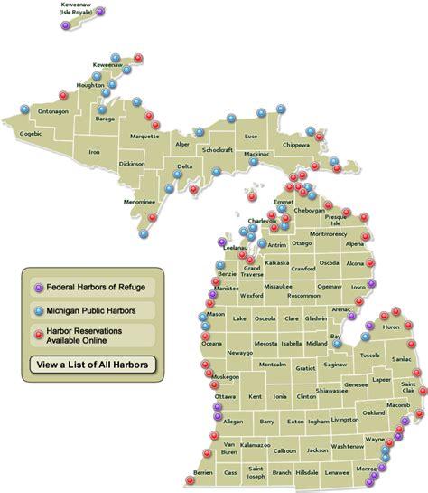 michigan dnr lake maps map of michigan state parks afputra
