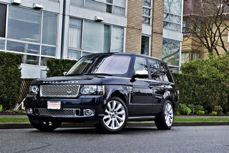 range rover autobiography 2012 land rover 2012 range rover autobiography suv