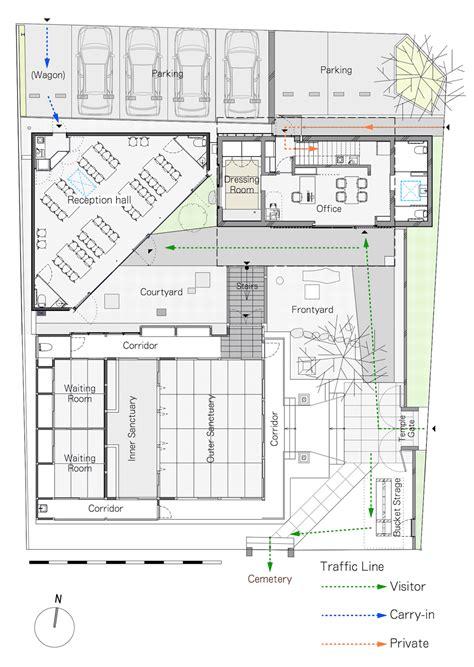 buddhist temple floor plan buddhist temple in tokyo upgraded by satoru hirota