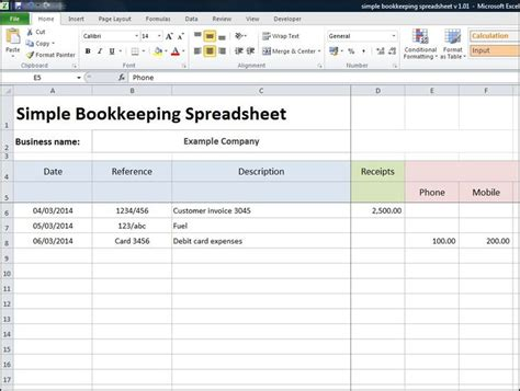 tutorial excel accounting 49 best bookkeeping basics images on pinterest
