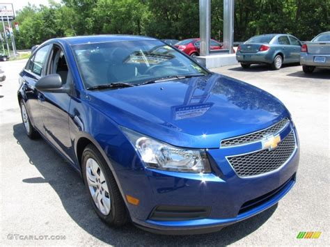 Blue Topaz Metallic 2012 Chevrolet Cruze LS Exterior Photo #51822554 GTCarLot.com