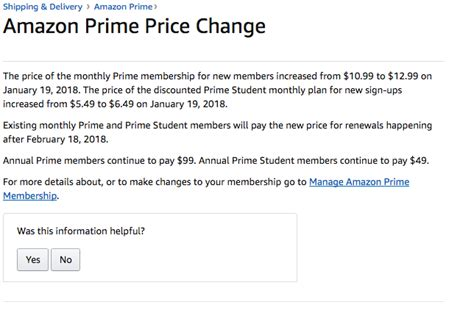 amazon prime price what s new on amazon prime 18 percent price hike coming soon