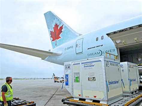 air canada cargo temperature sensitive pharmaceutical freight services
