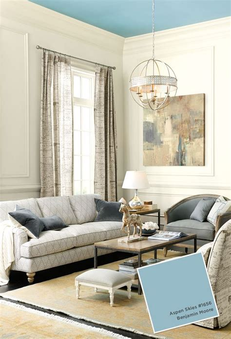 paint colors painted ceilings and neutral walls on