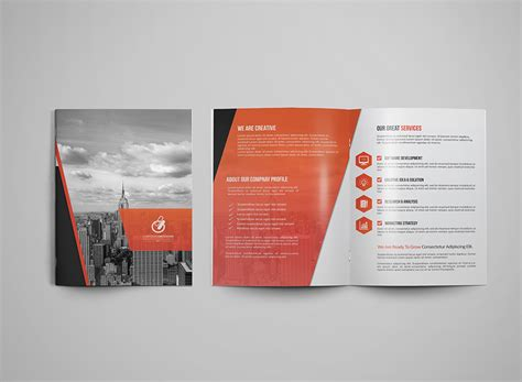 Bi Fold Brochure Paper - bi fold tri fold brochure template on behance