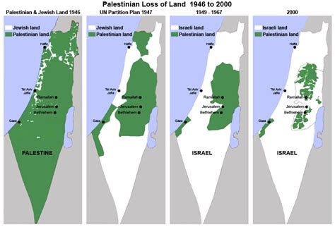 map of israel and palestine israel palestine when the map lies