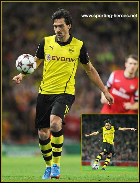 Borussia Dortmund Mats Hummels by Mats Hummels 2013 14 Chions League Matches