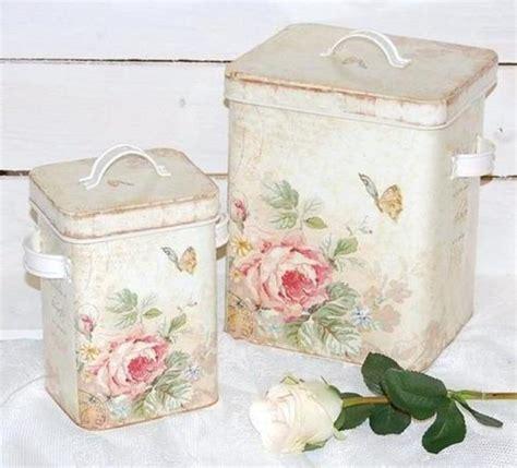 rose tins shabby chic fav s pinterest