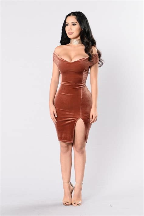 Dress Model Style Fashion Impor 23 days dress chocolate