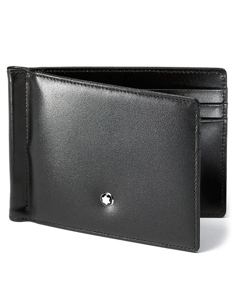 Montblanc Meisterstück 6 Card Wallet With Money Clip   Bloomingdale's