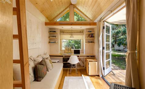 Beautiful Small Home Interiors Living In A Tiny House On Wheels Interior Design And